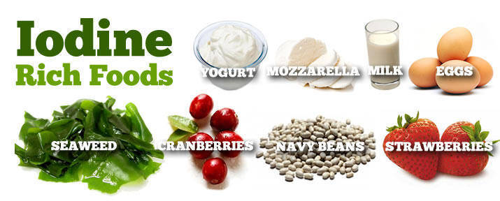 What Foods Contain Iodine And Iodide